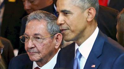 The announcement came days after Obama and Castro met on the sidelines of a regional summit in Panama [AP]