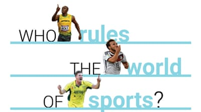Who rules the world of sport?
