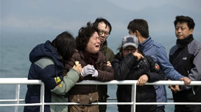 Grief and anger as South Korea marks ferry tragedy