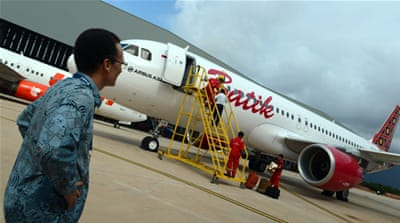 Batik Air is part of Lion Group, which runs Indonesia's biggest low-cost carrier Lion Air [AFP]