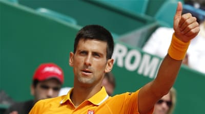 Djokovic is the top-seed at Monte Carlo [EPA]
