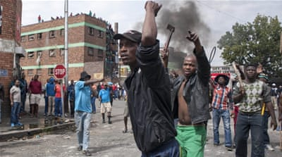 Zuma faces pressure to end violence in South Africa