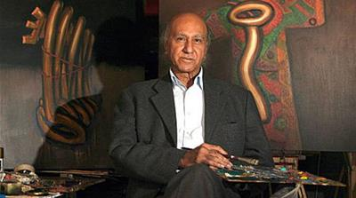 Artist and physician Ala Bashir [Al Jazeera]