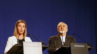 "EU foreign policy chief Federica Mogherini said a ""decisive step"" has been achieved [Reuters]"