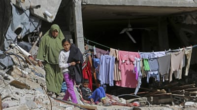 Hundreds of children in Gaza were orphaned by the war, and all of the territory's children need some form of psychosocial support, aid groups say [AP]