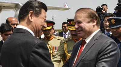 China and Pakistan to open $46bn 'economic corridor'