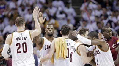 This was Cavaliers' first playoff game in five years [AP]