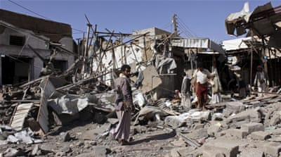 Fresh Saudi-led air strikes reported in Yemen