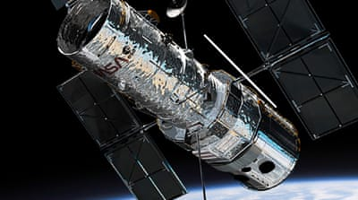 The $2.5bn Hubble Space Telescope has been  hailed as a powerful tool of scientific discovery [Hubble Space Telescope]