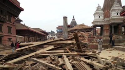 Aftershocks rattle Nepal after worst quake in decades