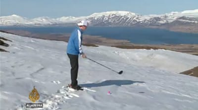 Arctic golf - keeping it cool in Iceland