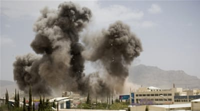 Houthi rebels have been accused of receiving much of their supply of arms from Iran [AP]