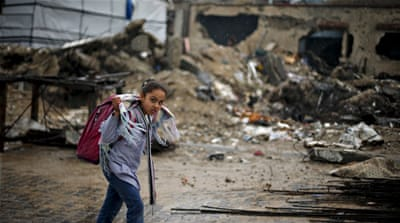 Israel's offensive in Gaza last year killed more than 2,200 Palestinians, mostly civilians [AP]