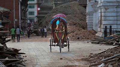Kathmandu: The search for survivors