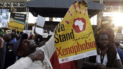 South Africa and Nigeria spar over xenophobic violence