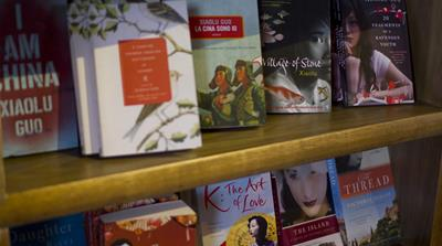 Prominent Chinese women writers were featured at this year's Bookworm International Literary Festival [Katrina Yu/Al Jazeera]