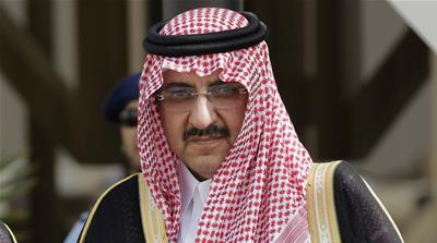 Prince Mohammed bin Nayef is now crown prince of Saudi Arabia [AP]