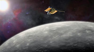 NASA spacecraft smashes into Mercury
