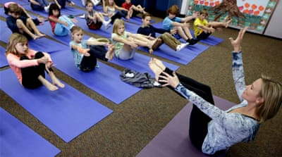 US court rules in favour of school yoga classes