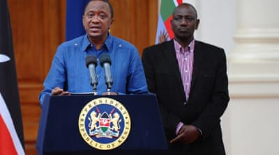 Kenyatta says al-Shabab will not be able to establish a caliphate in Kenya [AFP]