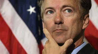Kentucky Senator Rand Paul is expected to announce his candidacy next week [AP]
