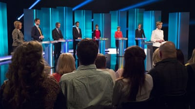 UK multi-party debates: No empty chairs