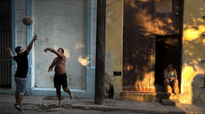 Cuba has a long history of basketball, from the streets to participating in four world championships [AP]