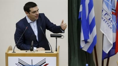 Greece is struggling to unlock another $6.76-bn in loans from the IMF and EU to stave off possible bankruptcy [EPA]