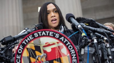 Baltimore policeman charged with murder of Freddie Gray