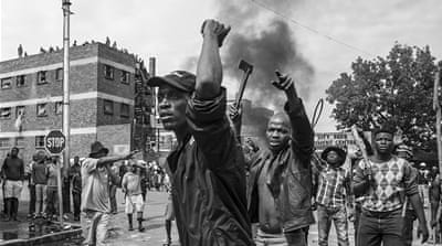 Pictures of xenophobia in South Africa