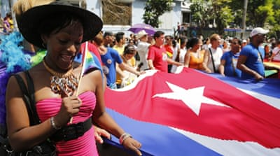 Cuba parade pushes same-sex marriage
