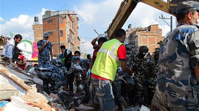 Powerful second quake rocks Nepal