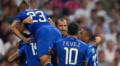 Morata's equaliser was enough for Juventus to progress to the final [Getty Images]