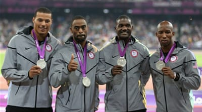 USA had won silver behind Jamaica [Getty Images]