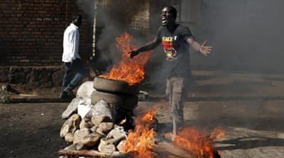 Fierce fighting near Burundi state broadcaster building