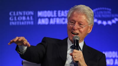 Bill Clinton: Middle East 'not all a bad news story'