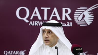 Saudi Arabia, the United Arab Emirates, Bahrain and Egypt have closed their airspace to Qatari flights [AP]