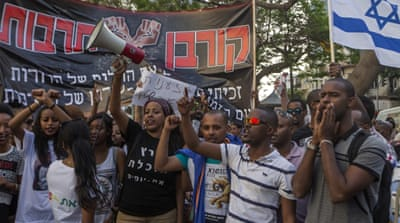 Ethiopian Jews in Israel have staged several rallies against alleged police brutality and racism in recent weeks [AFP]