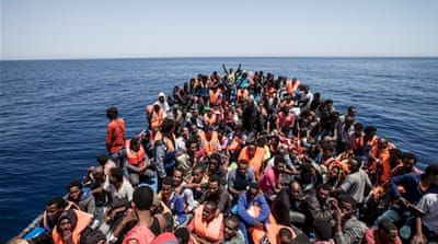 The total of those reaching Italy by boat across the Mediterranean this year exceeded 40,000, according to UN estimates [AFP]
