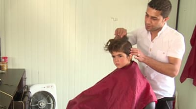 Syrian refugees learn business skills in Lebanon