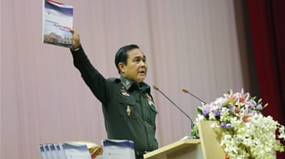 One year of Thai military rule passes with a whisper