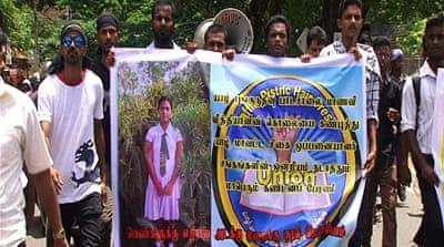 Gang-rape prompts protests in Sri Lanka\'s north