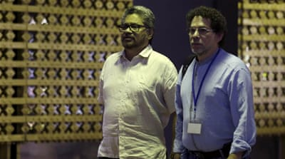 FARC negotiators in Cuba said talks to end the conflict in Cuba would continue [Reuters]
