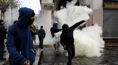 Clashes as Chile's Bachelet seeks to regain popularity