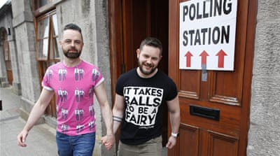 Ireland says big 'Yes' to gay marriage in world first