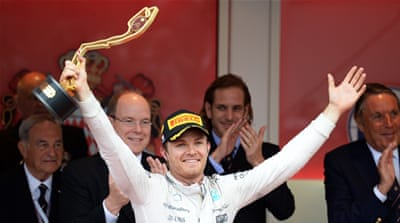 Rosberg wins Monaco GP after Hamilton's pit-stop error