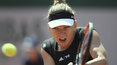 Halep lost last year's final to Sharapova [AP]