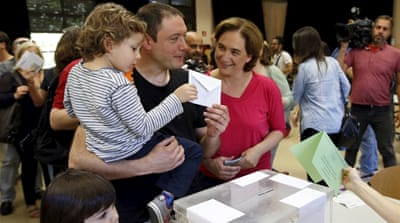 Spain's ruling party projected to lose in local polls