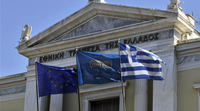 Athens is locked in talks with the EU, European Central Bank and IMF to release a blocked final $7.9bn tranche of its $264bn bailout [AFP]