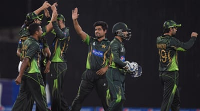 Pakistan have maintained their number-five ranking after winning the series [Getty Images]